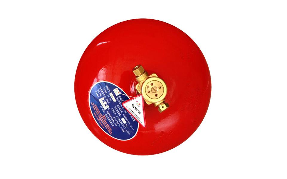 感温式/电磁式 悬挂式七氟丙烷气体灭火装置 6-30KG XQQW 3C认证