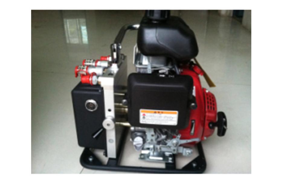 液压双输出机动泵