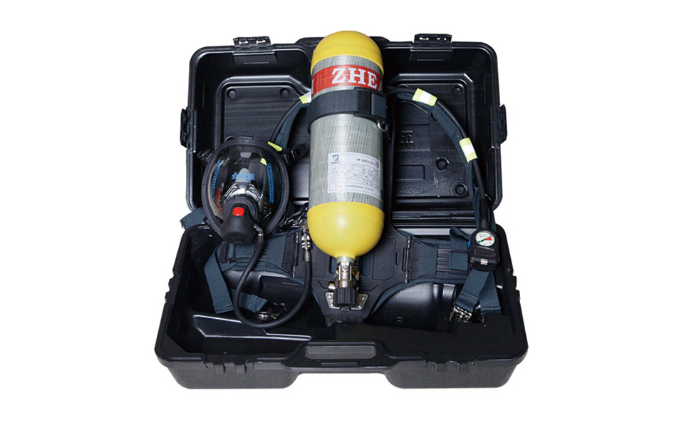 浙安正压式空气呼吸器 RHZK6.8L 3C认证消防专用z浙安品质