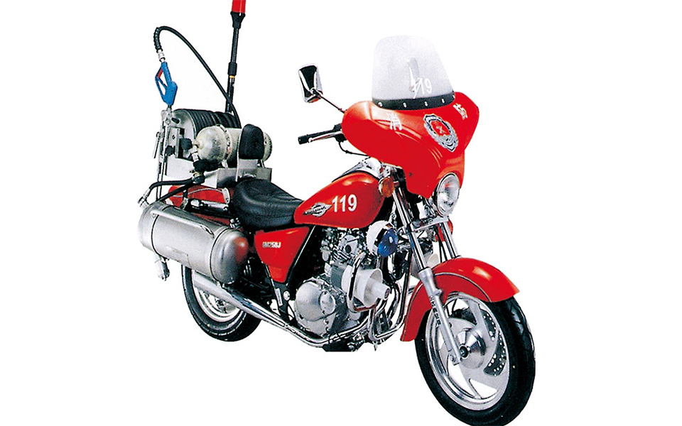 250CC细水雾消防摩托车